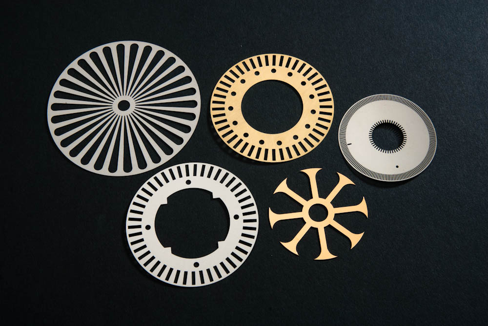 Etched Encoder Disks