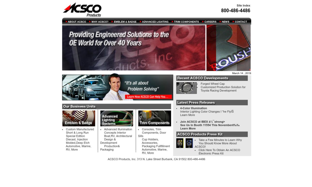 ACSCO Products, Inc
