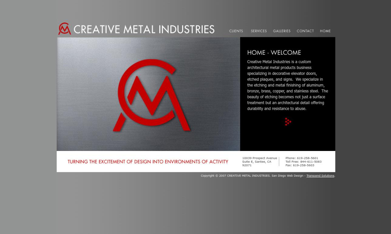 Creative Metal Industries, Inc.