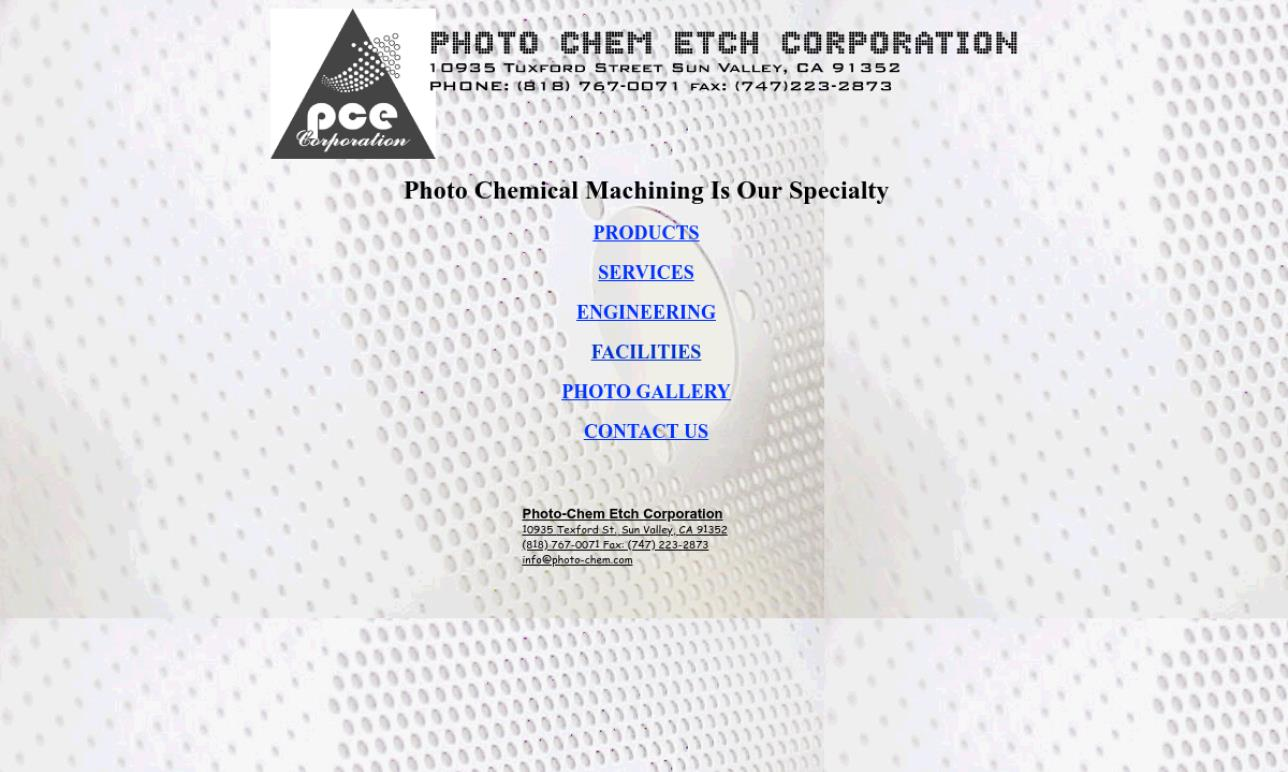 Photo-Chem Etch Corporation