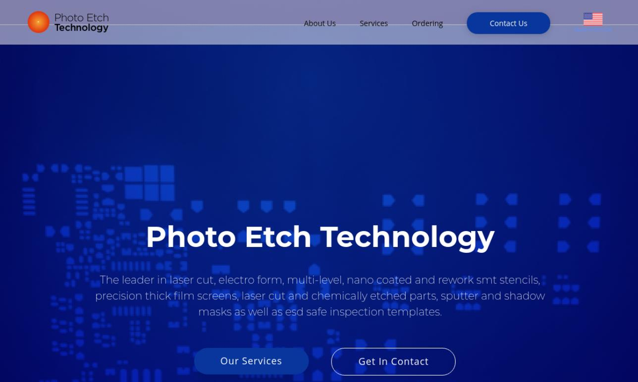 Photo Etch Technology