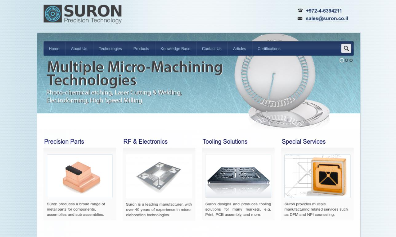 Suron Photo Chemical Machining A.C.A., Ltd.