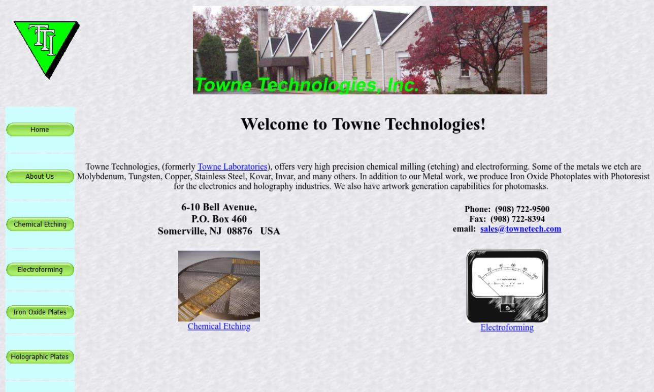 Towne Technologies, Inc.
