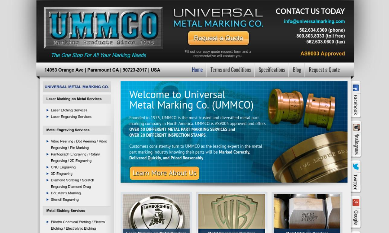Universal Metal Marking Co.