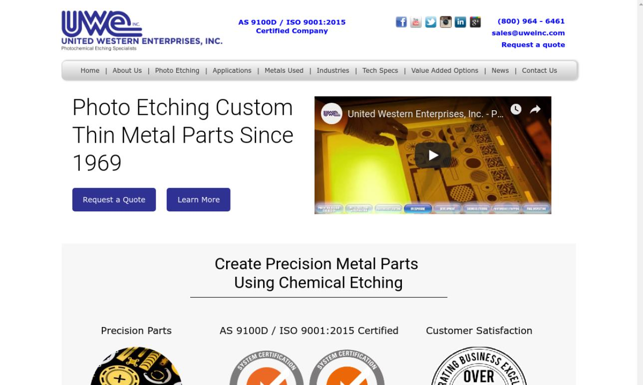 More Metal Etching Company Listings