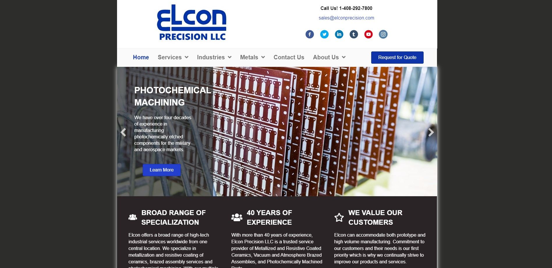 Elcon Precision LLC